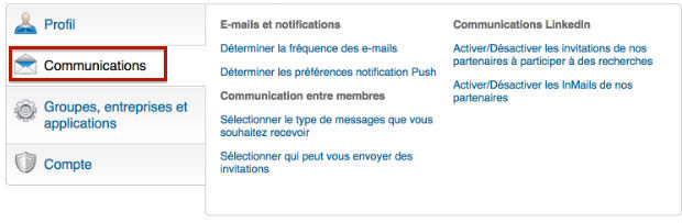 comment supprimer la newsletter linkedIn