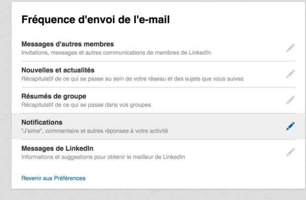 comment supprimer les newsletters linkedin