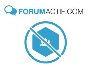 Se désinscrire d'un forum Forumactif