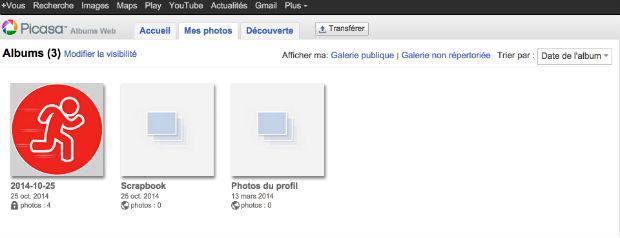 comment supprimer les photos de google plus