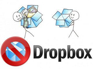 comment se désinscrire compte dropbox