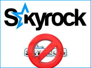 supprimer blog skyrock