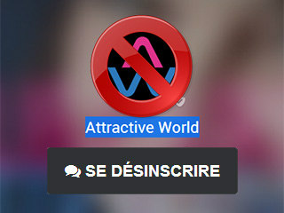 Se désinscrire d'Attractive World