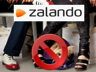 Supprimer un compte Zalando