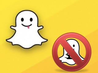 Désinstaller et supprimer un compte Snapchat
