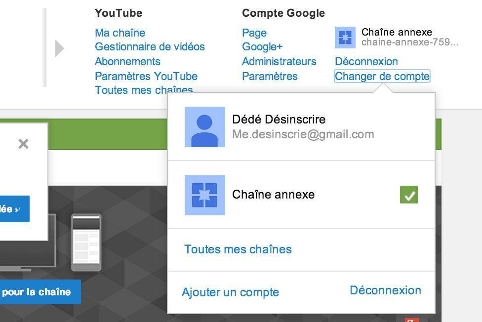 chaine youtube annexe