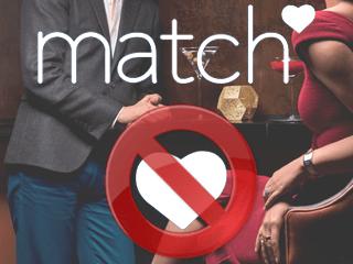 Supprimer un compte Match.com