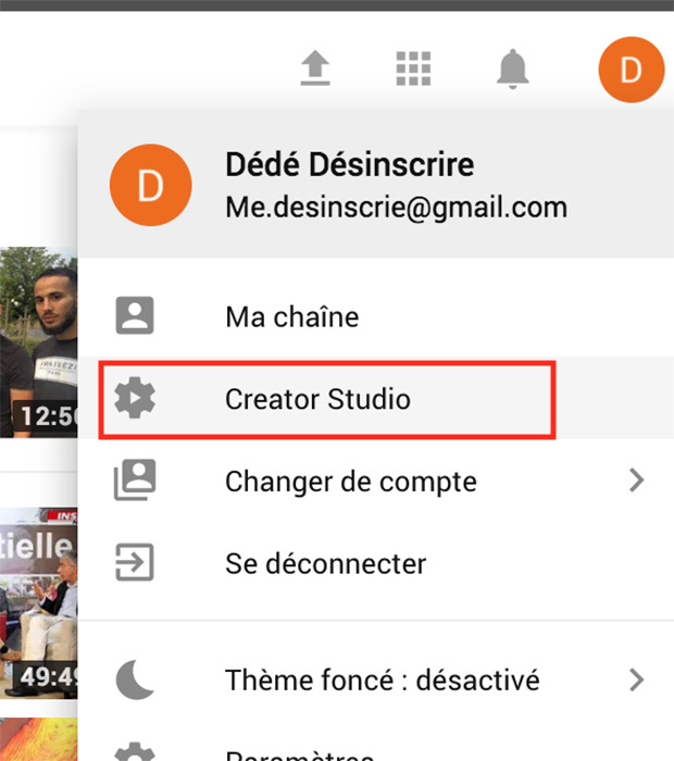 comment supprimer video youtube