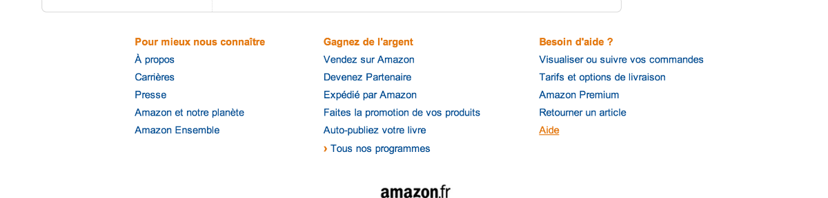 supprimer un profil amazon