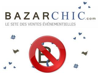 supprimer un compte bazarchic
