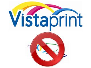 Supprimer un compte VistaPrint