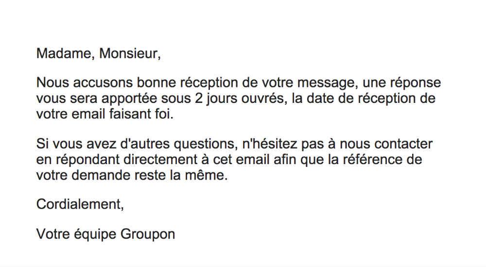 supprimer un compte Groupon