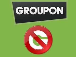 Comment supprimer un compte Groupon