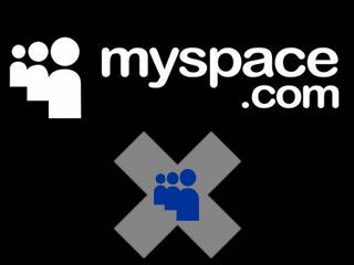 supprimer compte myspace