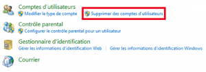 supprimer compte Windows étape 4