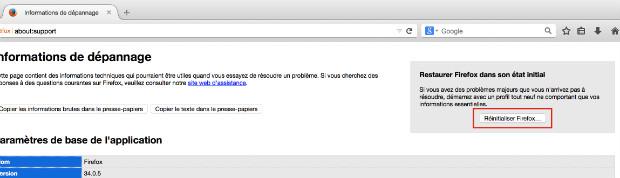 supprimer le moteur de recherche websearch