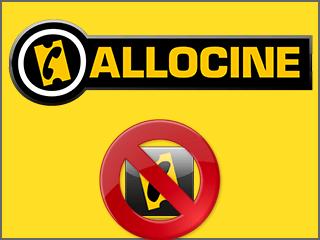 Supprimer un compte Allociné