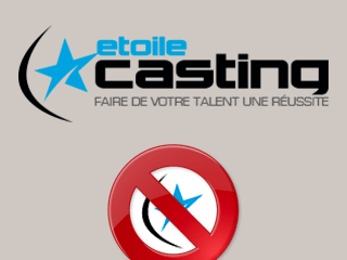 Supprimer son compte EtoileCasting