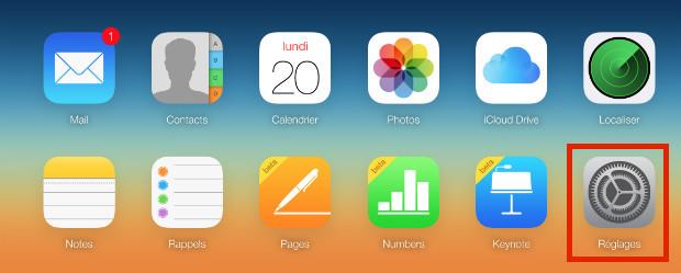 supprimer un compte iCloud