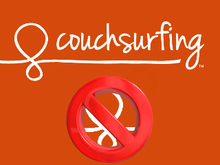 Supprimer un compte CouchSurfing