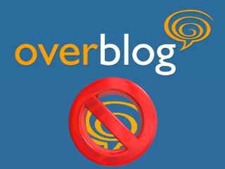 Supprimer un compte OverBlog