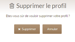 validation suppression compte anipassion