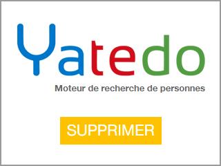 Supprimer un profil Yatedo