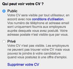 CV indeed