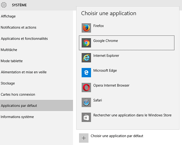 désinstallation Microsoft Edge