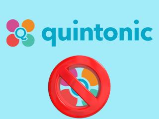 Supprimer un compte Quintonic