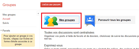 comment quitter groupe google groupes