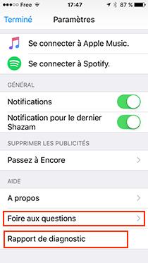 comment contacter le service client shazam