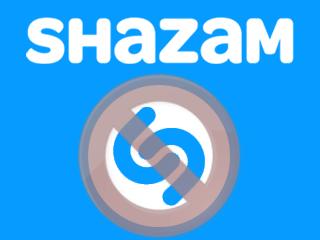 Supprimer un compte Shazam
