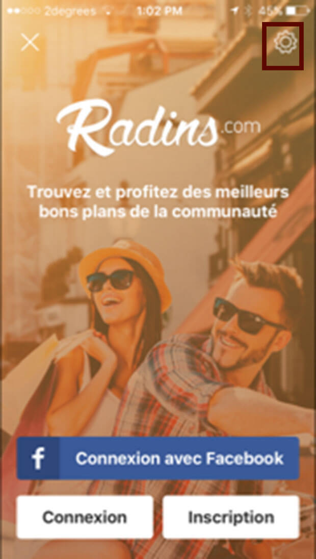 comment supprimer l'application radins