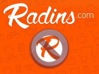 Supprimer un compte Radins