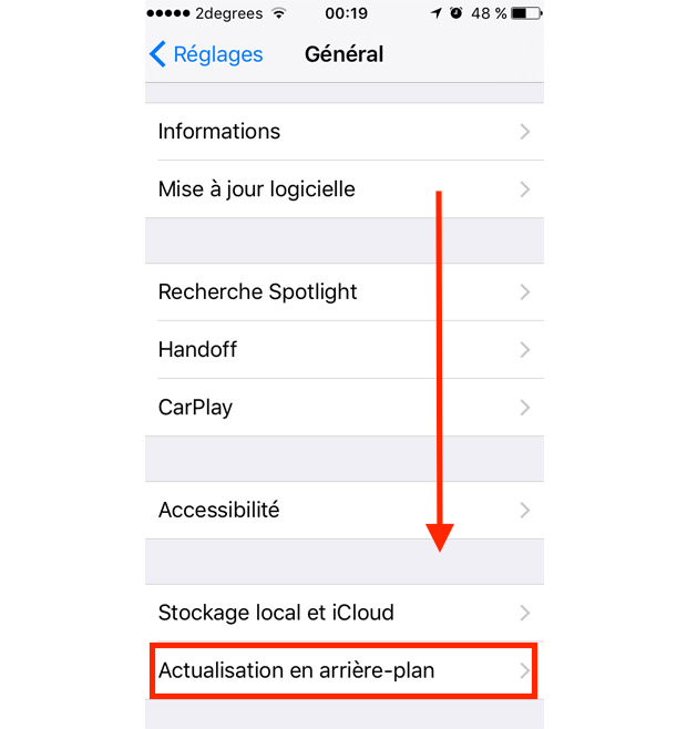 comment fermer une application sur iphone