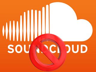 Supprimer un compte SoundCloud