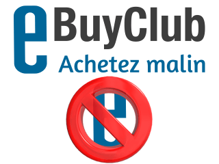 Supprimer un compte eBuyClub
