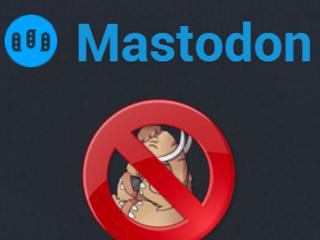 Supprimer un compte Mastodon