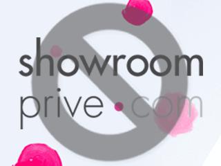 Supprimer un compte Showroomprive.com