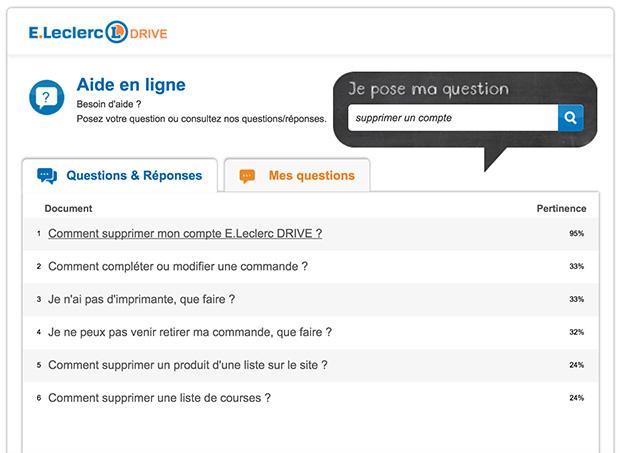 comment contacter le service client leclerc drive