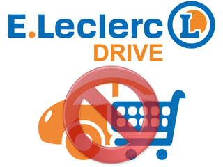 Supprimer un compte Leclerc Drive