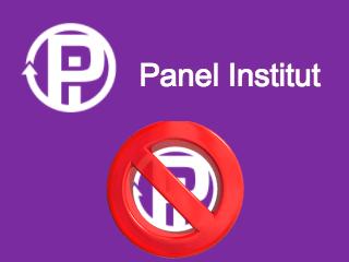 Supprimer un compte Panel Institut