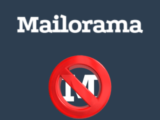 supprimer compte mailorama