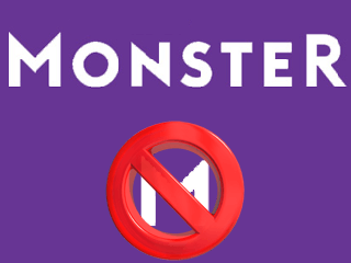 Supprimer un compte Monster