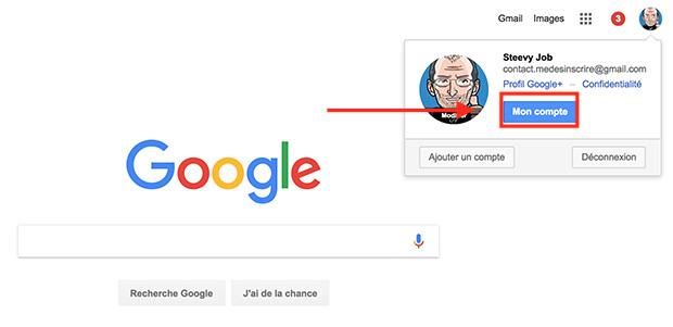 comment effacer l'historique google
