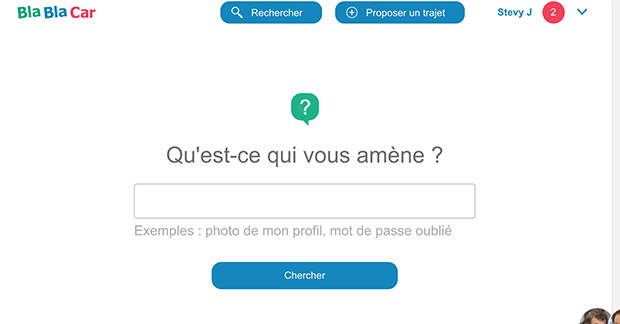 comment contacter blablacar