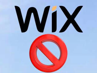 Supprimer un compte Wix