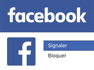 Signaler un compte Facebook