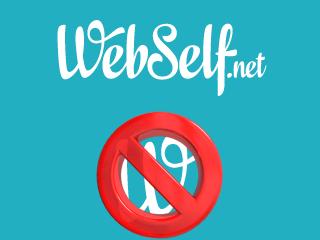Supprimer un compte Webself